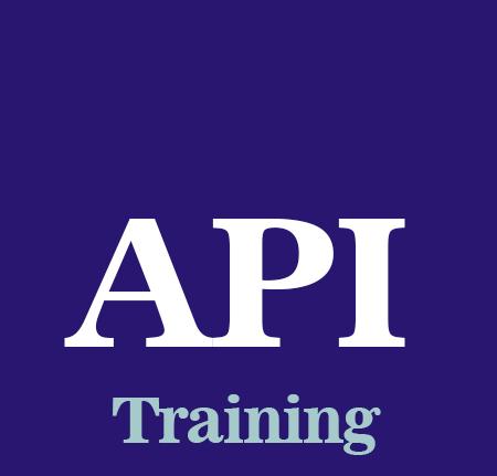 API Q1 Training